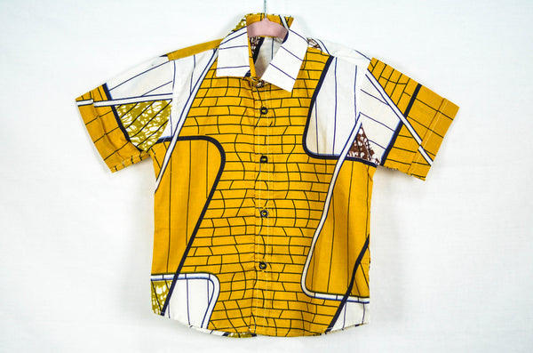 Pitter Pattern Shirt - Mustard