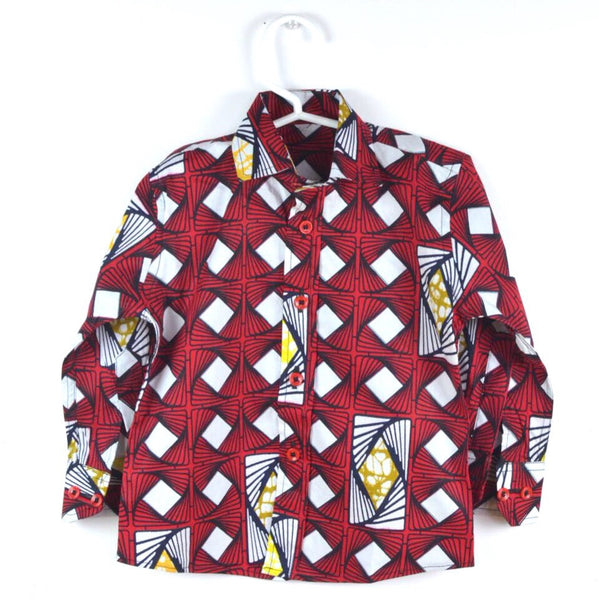 Waves Shirt - Red