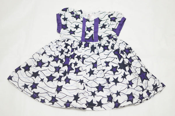 Pretty Stars - White/Purple