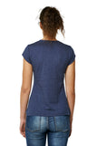 Camiseta galifornia girl gradient azul back