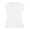 Camiseta blanca galifornia sunset mujer back