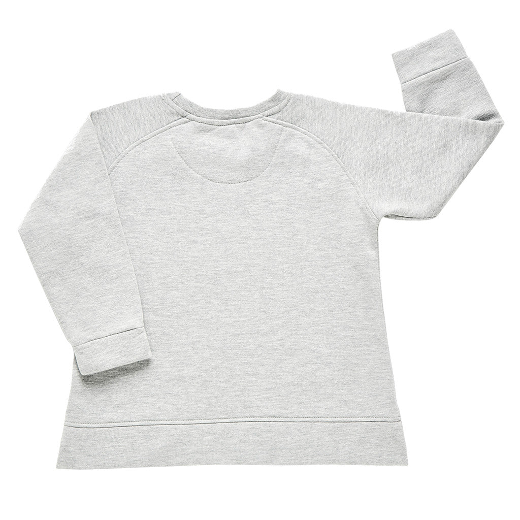 Sudadera gris galifornia girl niña back