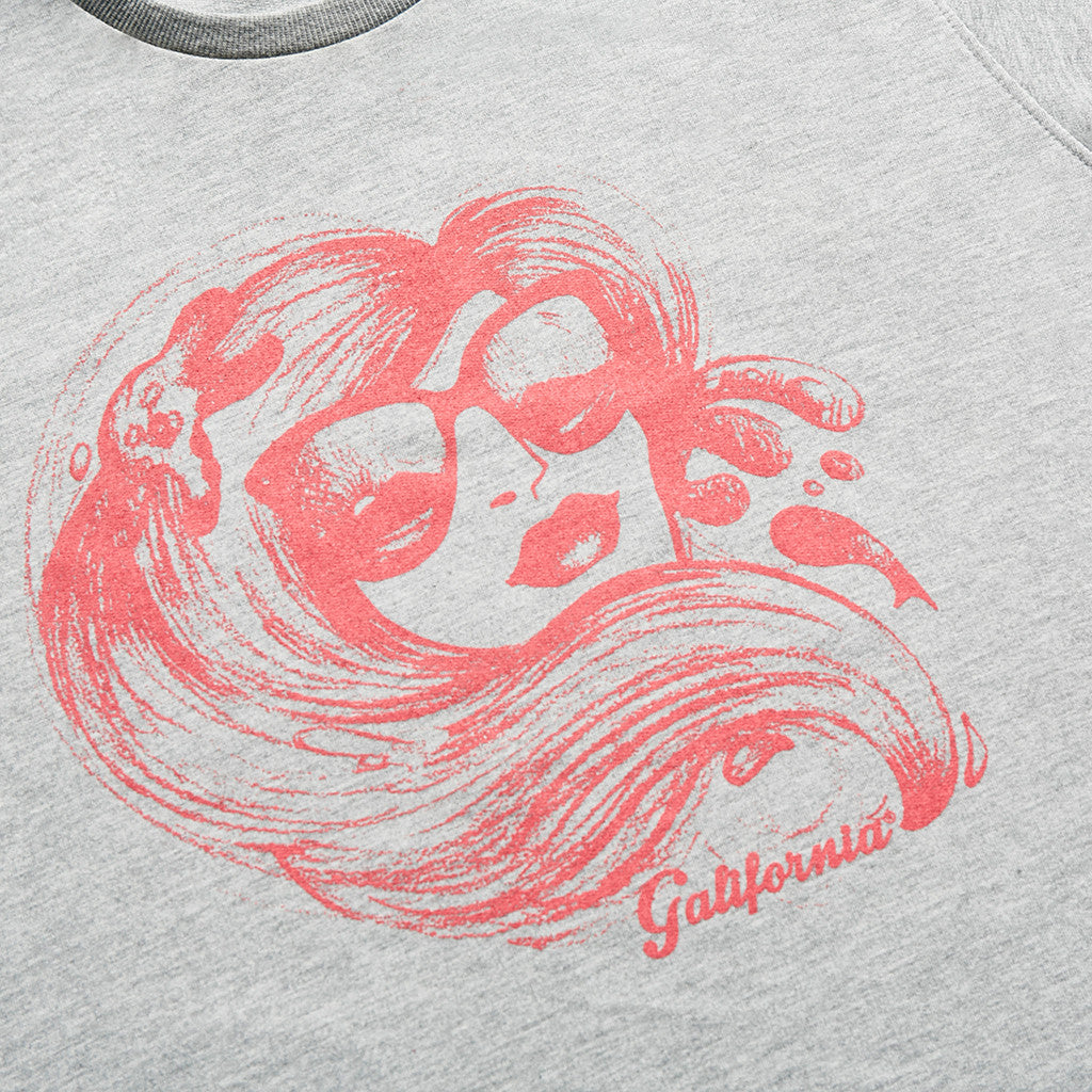 Sudadera girl pink galifornia detail