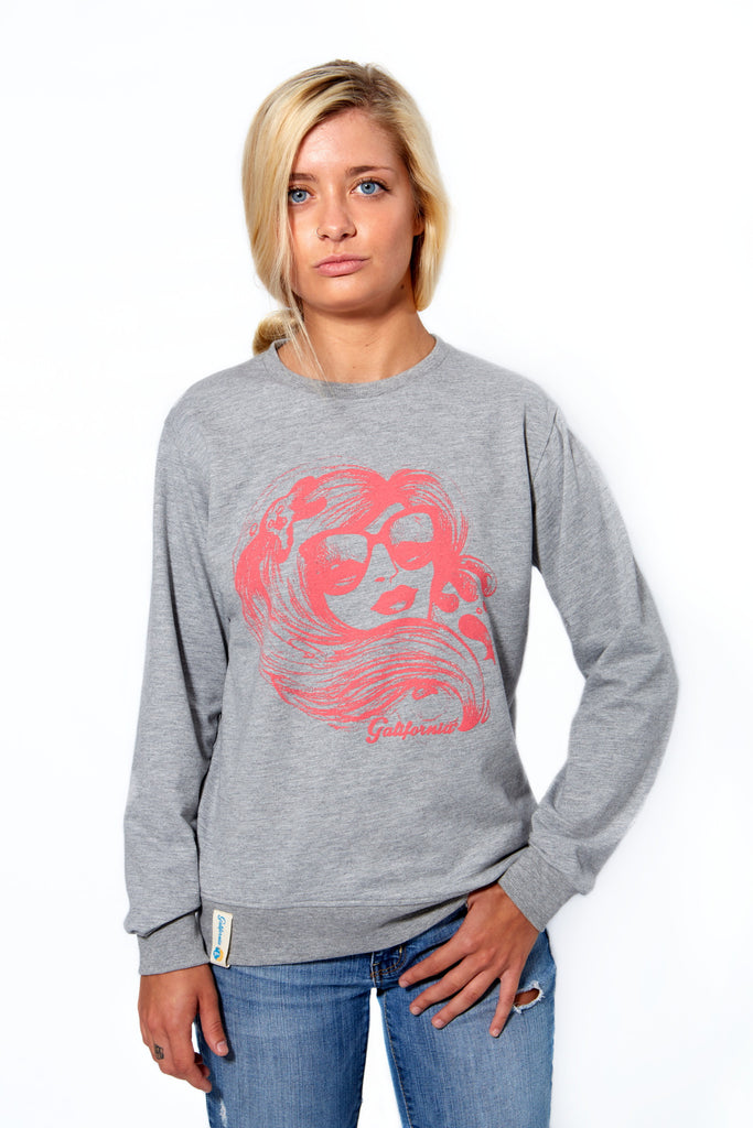 Sudadera girl pink galifornia