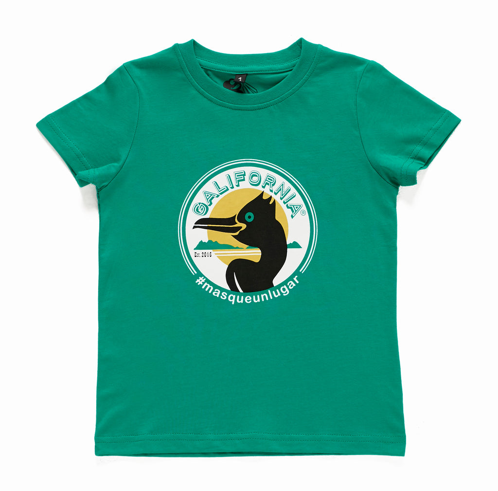 Camiseta Cormoran Kid green