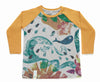 Camiseta shells kids manga larga
