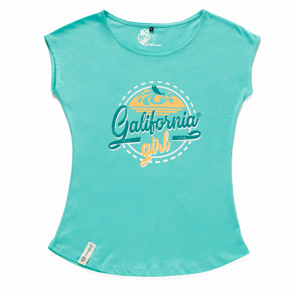 Camiseta Vintage Summer blue