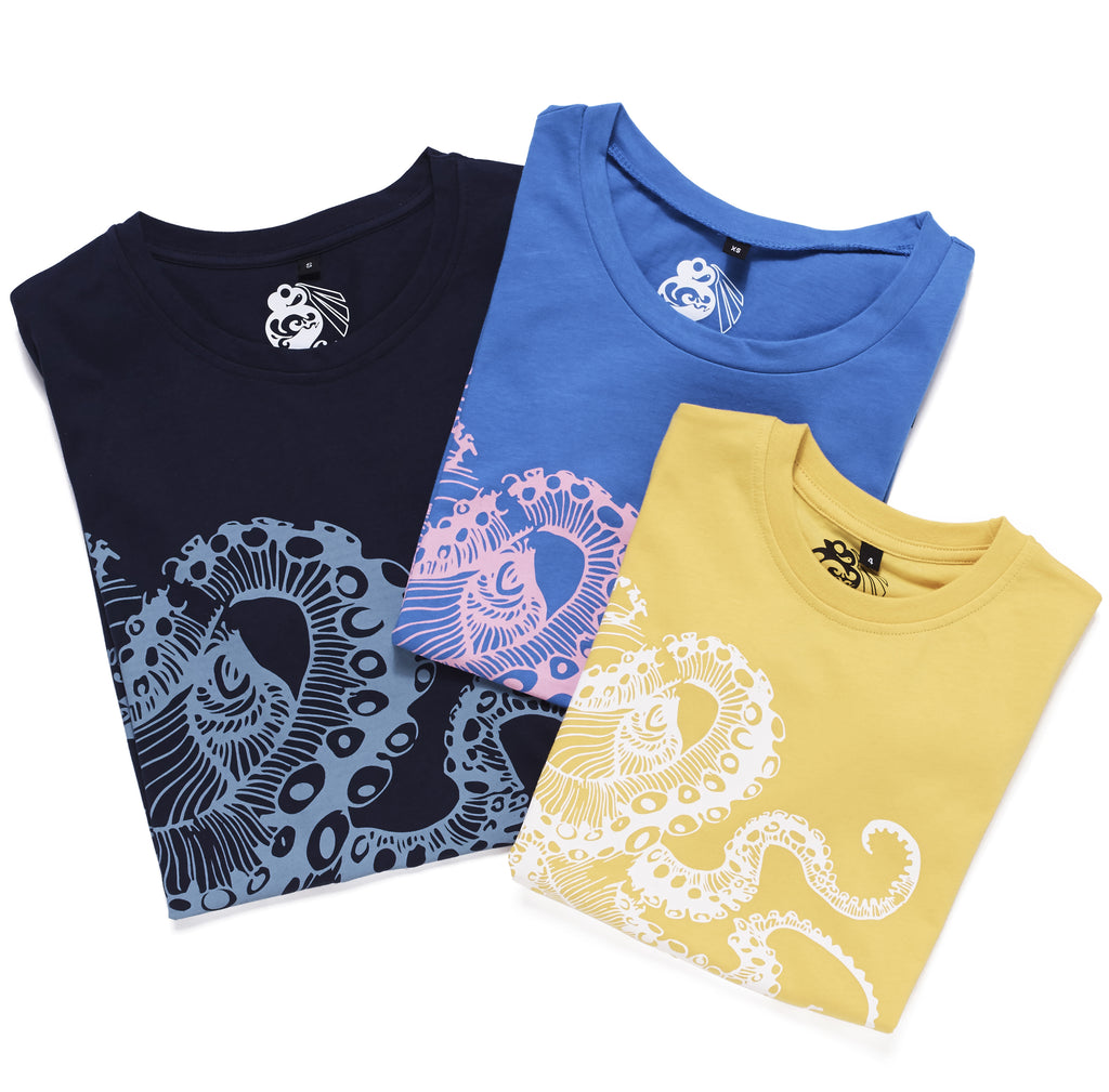 Camisetas Pulpo Galifornia