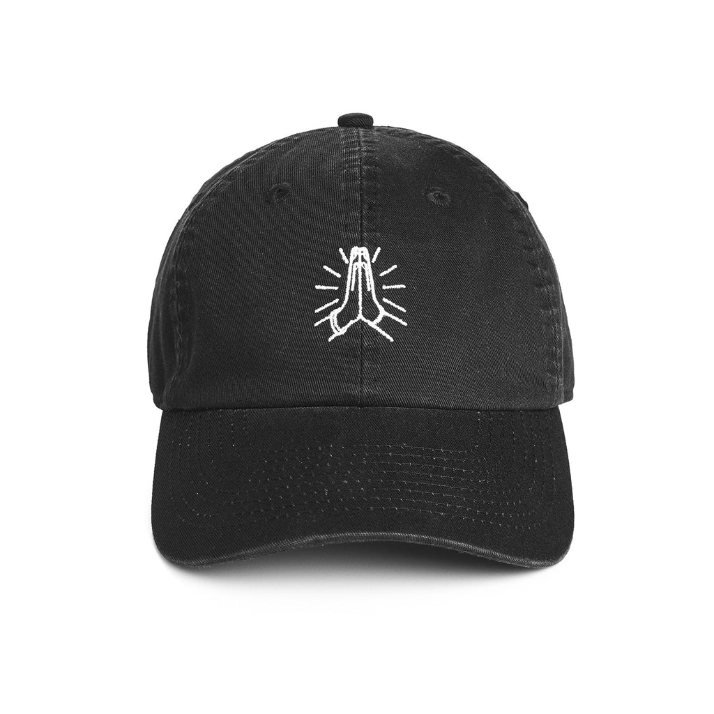 Y7 Custom Dad Hat Black