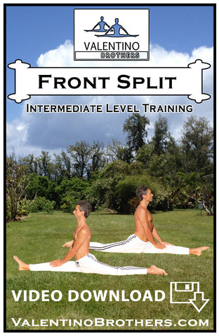 Front Split Intermediate Level Video mp4 - VALENTINO BROTHERS