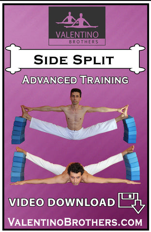 Side Over Split Advanced Level Video mp4 - VALENTINO BROTHERS