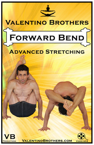 Forward Bend Advanced Level Video mp4 - VALENTINO BROTHERS