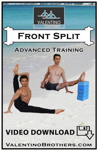 Front Split Advanced Level  Video mp4 - VALENTINO BROTHERS