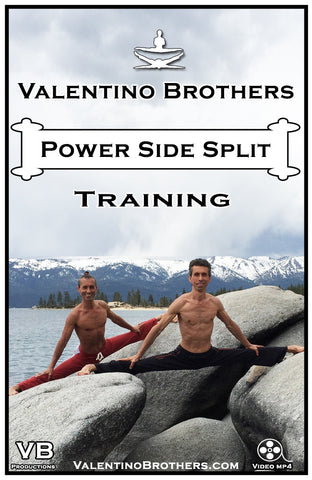 Power Side Split Training Advanced-Video mp4 - VALENTINO BROTHERS