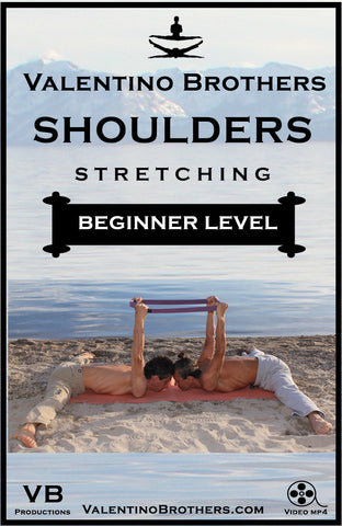 SHOULDERS STRETCHING *Beginner Level* - VALENTINO BROTHERS