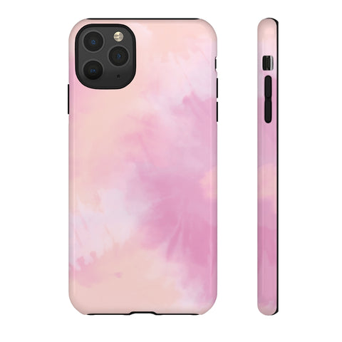 Pink Tie Dye iPhone Case