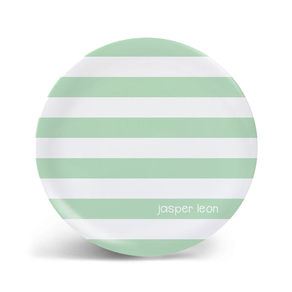Basic Stripes Plate - 8 Colors!