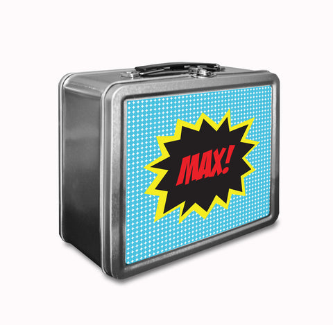 Blue Kapow! Lunch Box