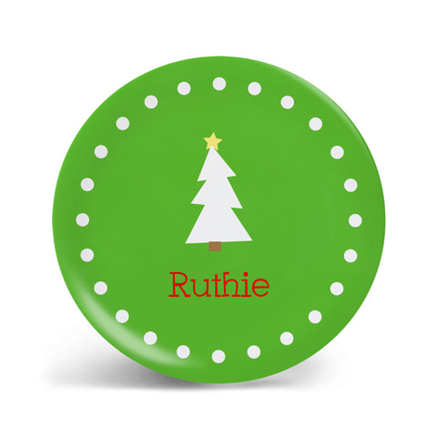 Christmas Tree Plate - 2 styles!