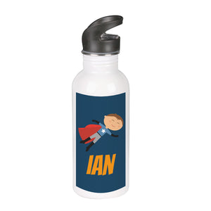 Flying Super Boy Water Bottle