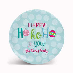 Happy HoHoHo Plate