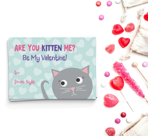 Are You Kitten Me? Valentine's Cards