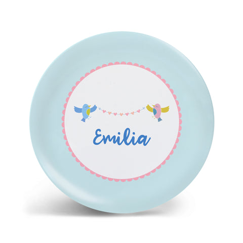 Lovely Birds Plate