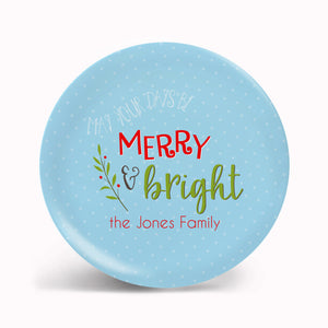 Merry and Bright Plate