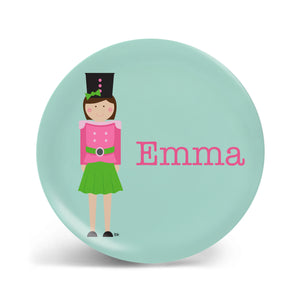 Nutcracker Girl Plate