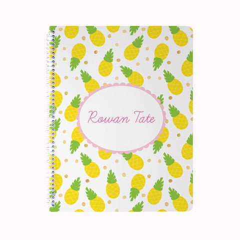 Pineapples Notebook
