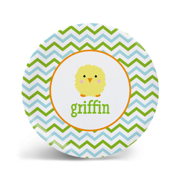Puffy Chick Easter Plate - 2 Styles!