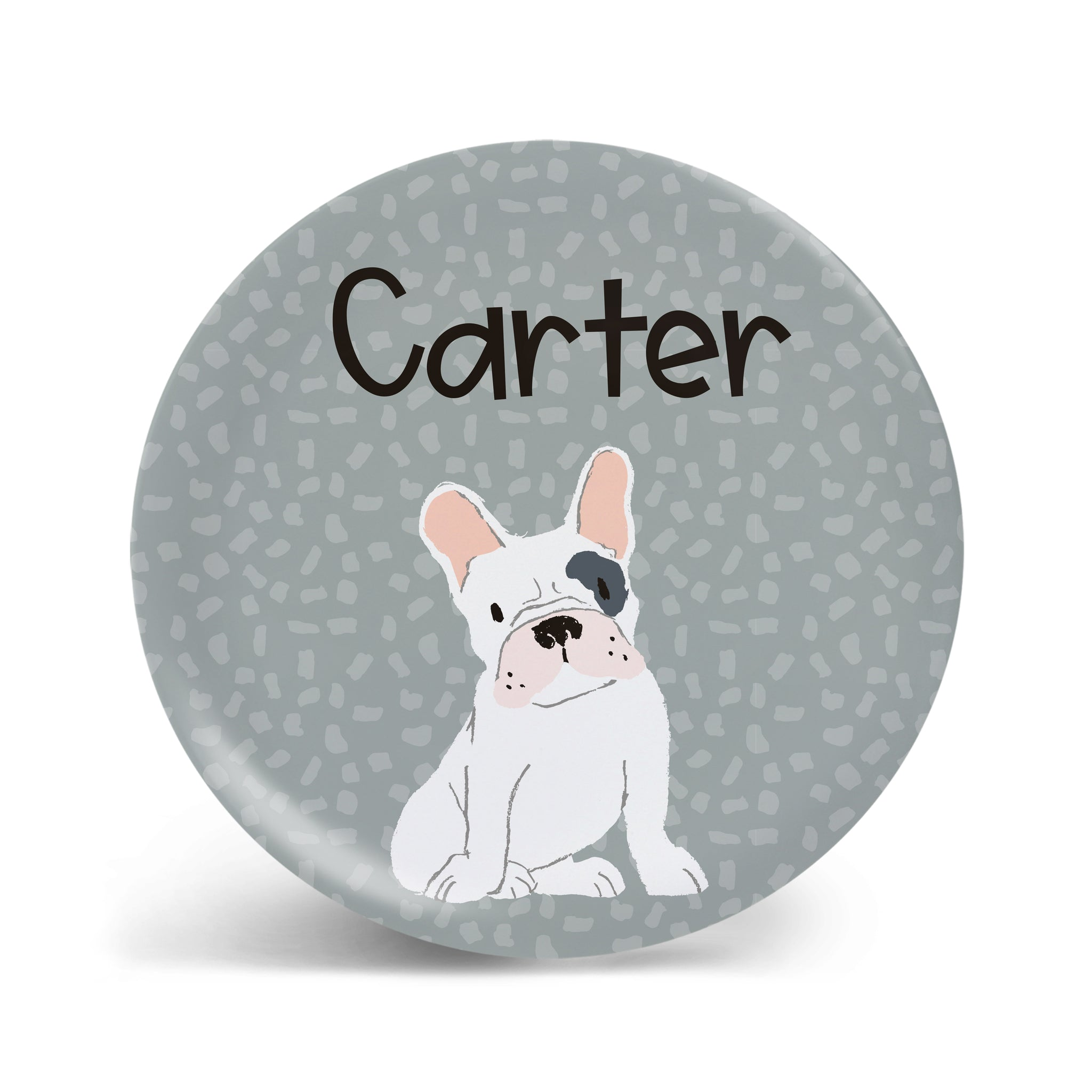 Pups Collection - French Bulldog Plate