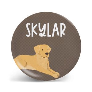 Pups Collection - Golden Retriever Plate