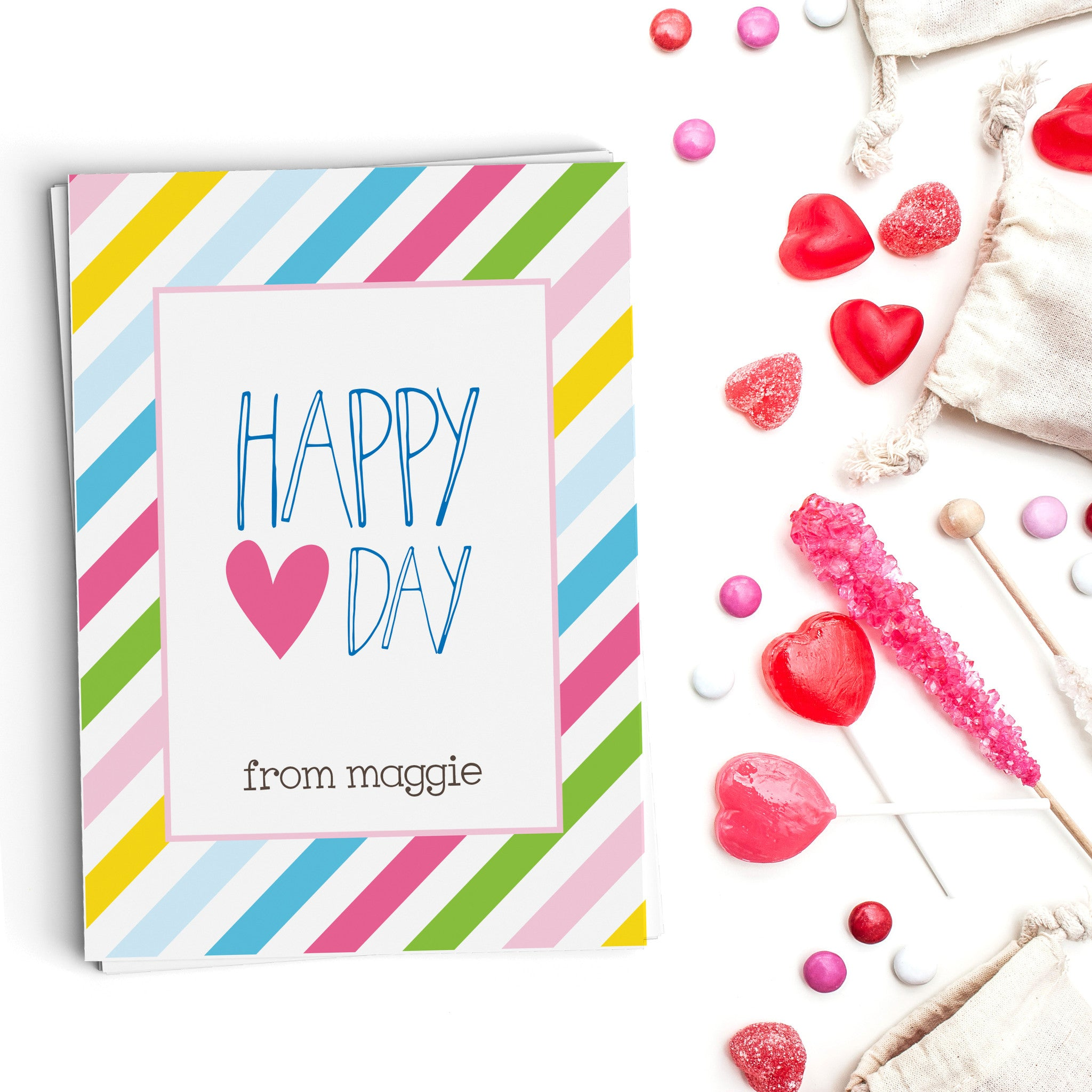 Happy Heart Day Valentine's Cards
