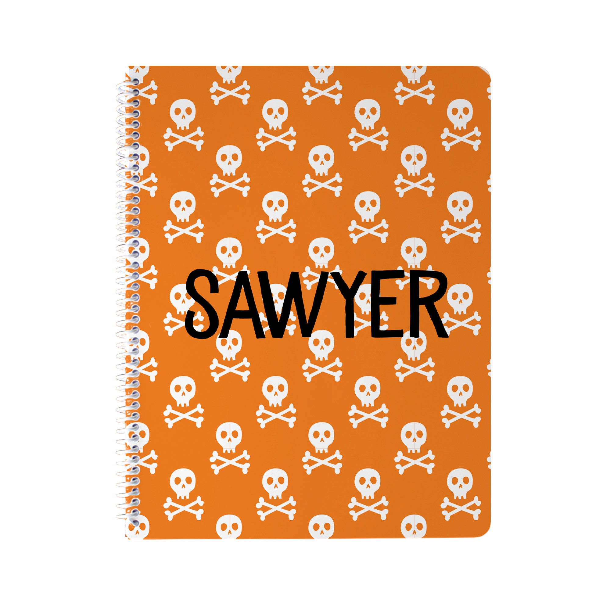 Skull and Bones Notebook