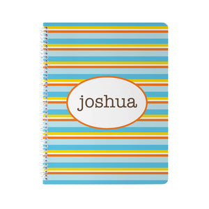 Stripes Notebook