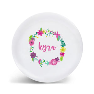 Tropical Wreath Plate