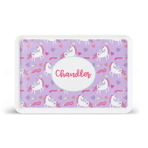Unicorn Dreams Lunchroom Style Tray