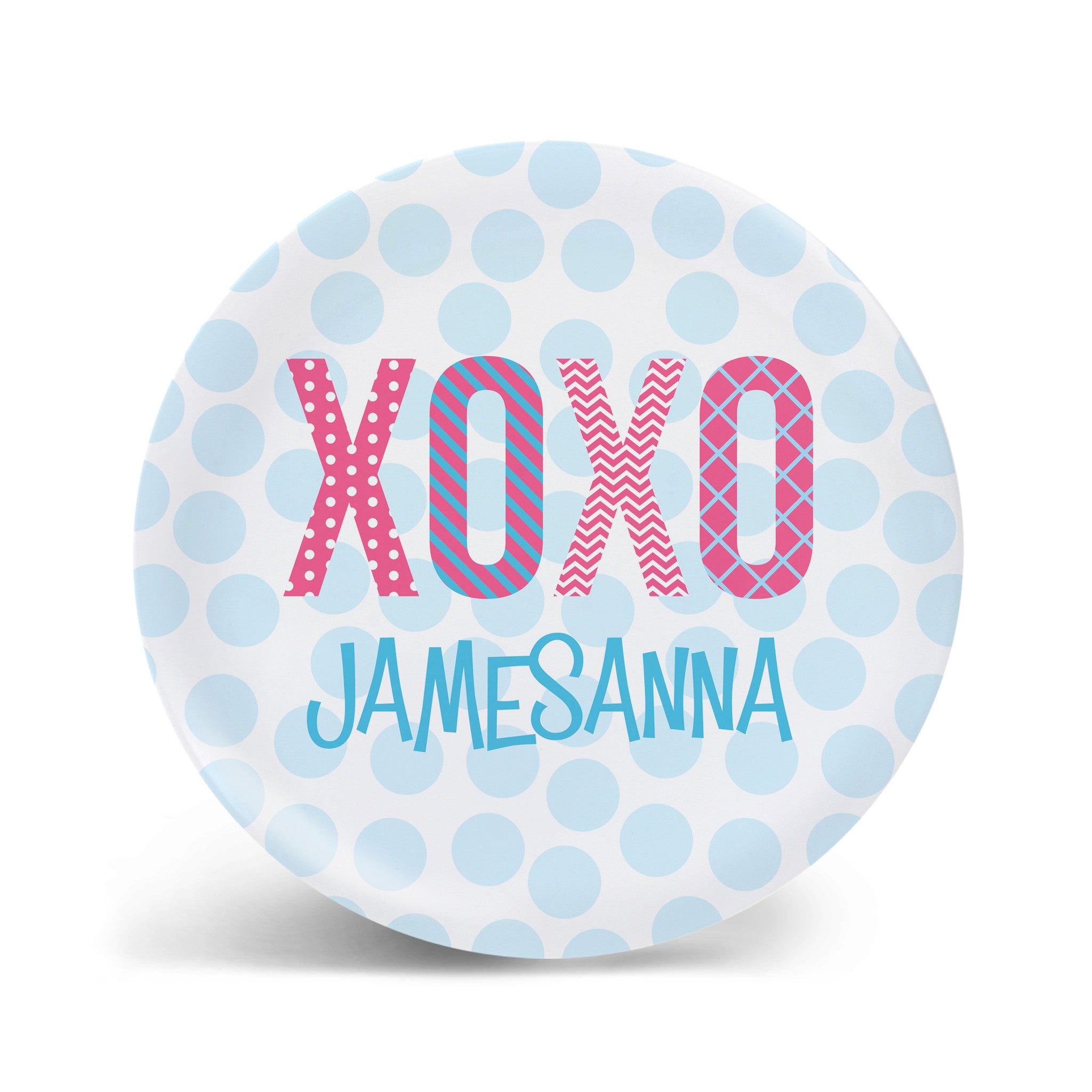 XOXO Valentines Plate - 2 styles!