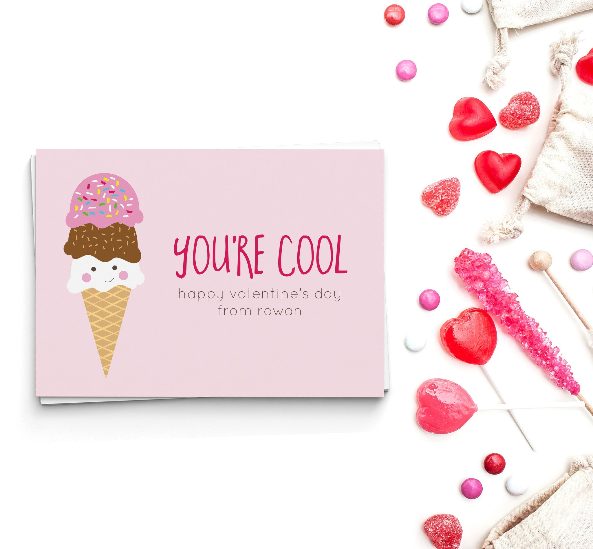 You're Cool Valentine's Cards