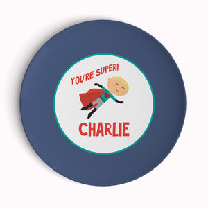 You're Super Valentine's Plate