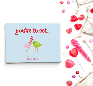 You're Tweet Valentine's Cards
