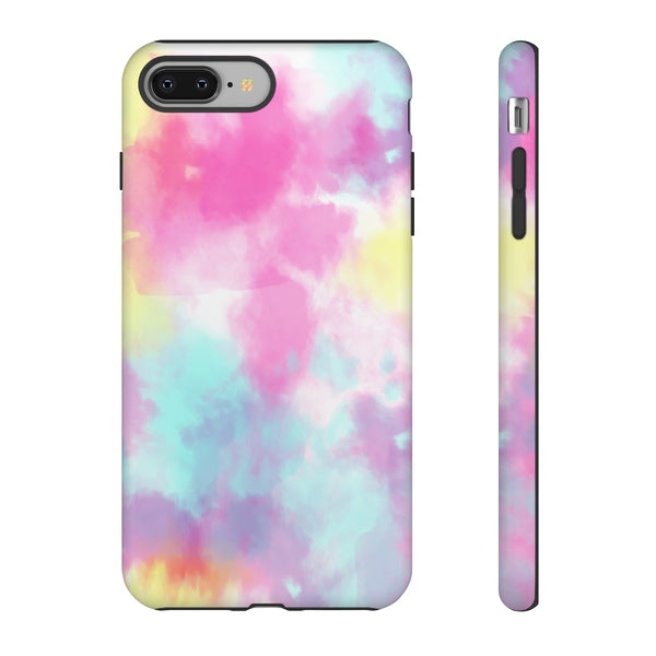 Neon Tie Dye iPhone Case