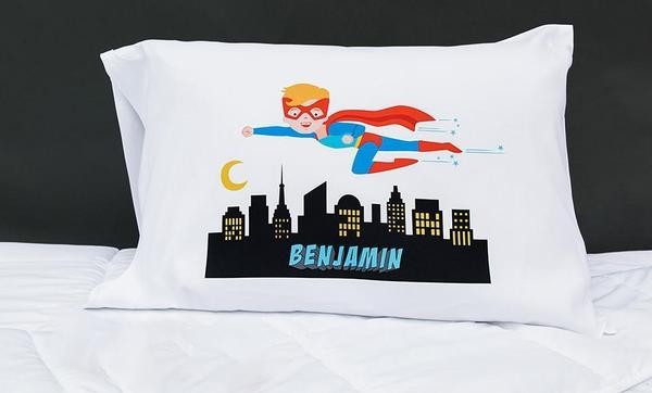 Flying Super Hero Pillowcase