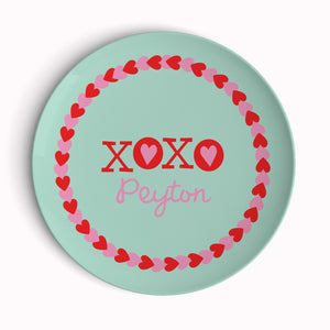 Hugs and Kisses Plate