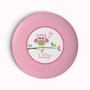 Owl Love You Plate