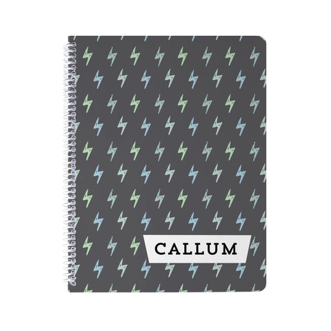 Lightning Bolts Notebook