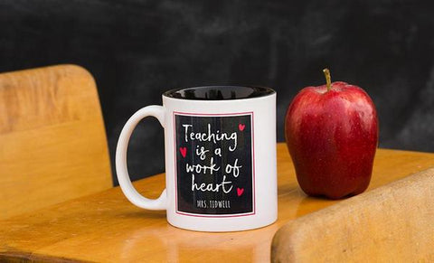 Work of the Heart Teacher Mug