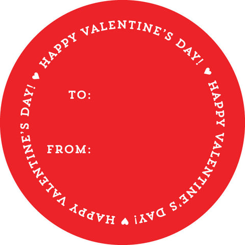 Happy Valentine's Day Stickers