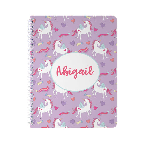 Unicorn Dreams Notebook